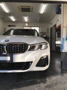 本日の業務!BMW3 ツーリング
