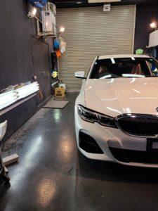 本日の業務!BMW3シリーズツーリング