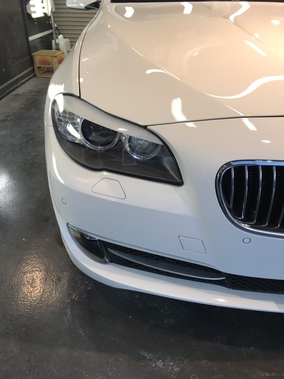 本日の業務!BMW5シリーズ