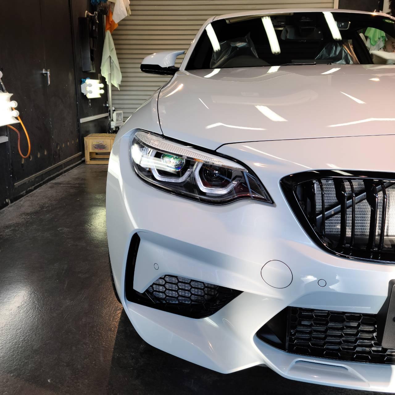 本日の業務!VW ゴルフ&BMW M2