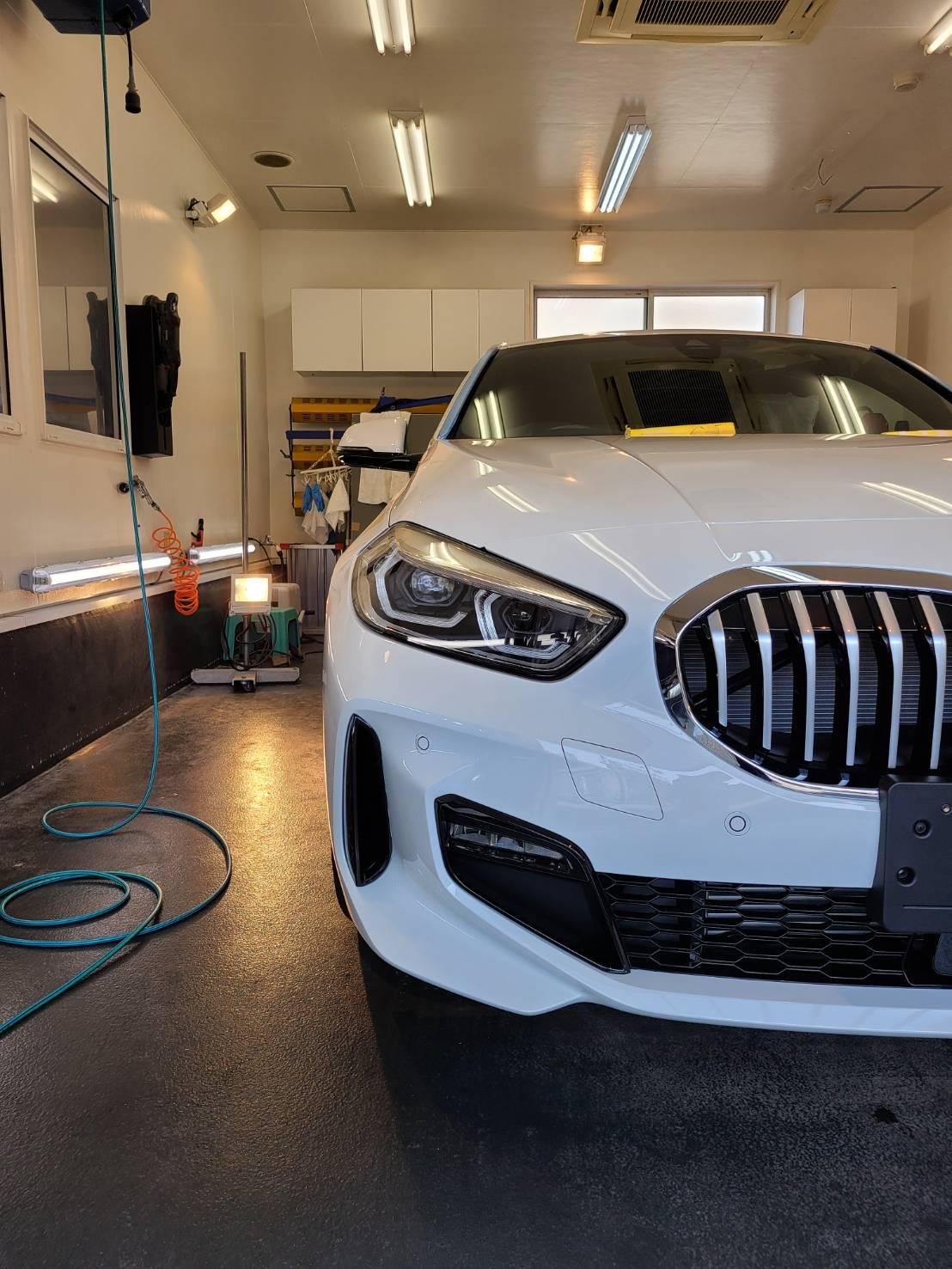 本日の業務!BMW1シリーズ