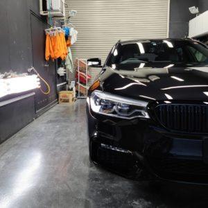本日の業務!BMW 5シリーズ