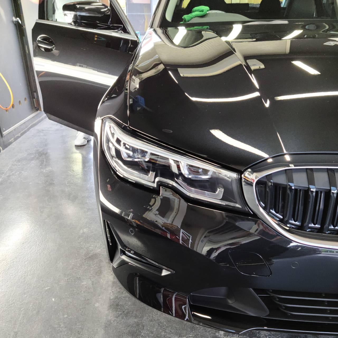 本日の業務!BMW3シリーズ
