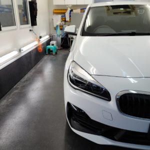 本日の業務!BMW2シリーズアクティブツアラー