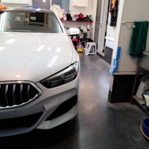 本日の業務!BMW8シリーズGC&ホンダ Fit