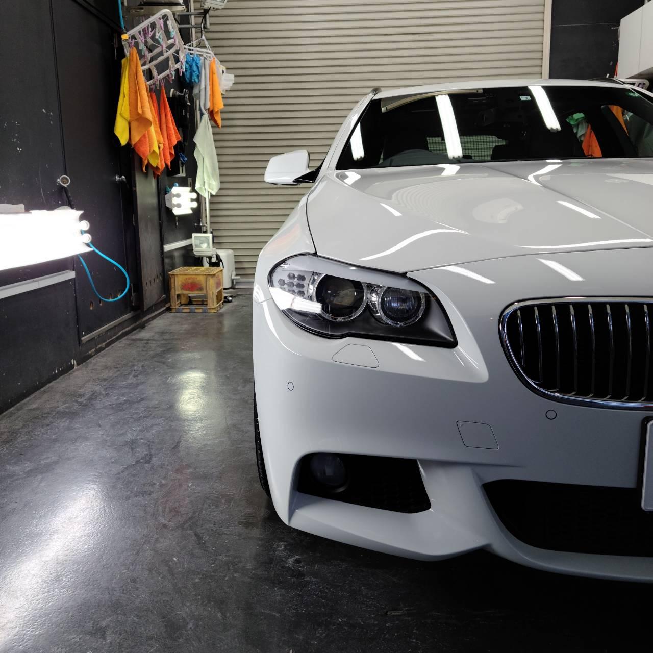 本日の業務!BMW5シリーズ&BMW8シリーズGC