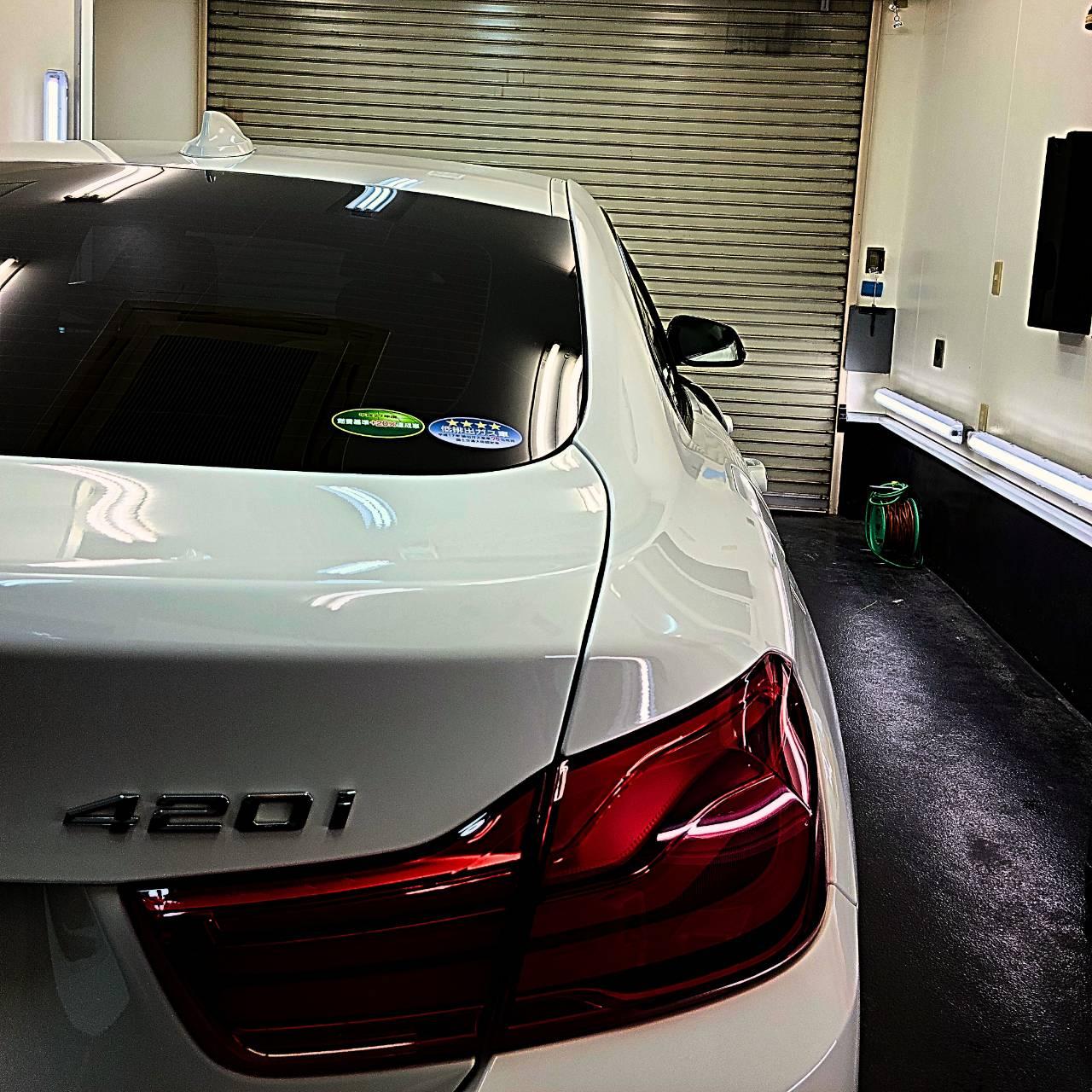 本日の業務!BMW4シリーズGC!