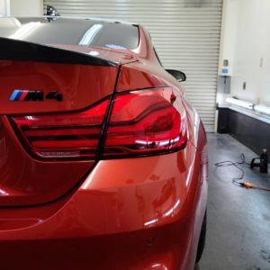 BMW (F82型)M4フィルム&アウディA7プロテクションフィルム