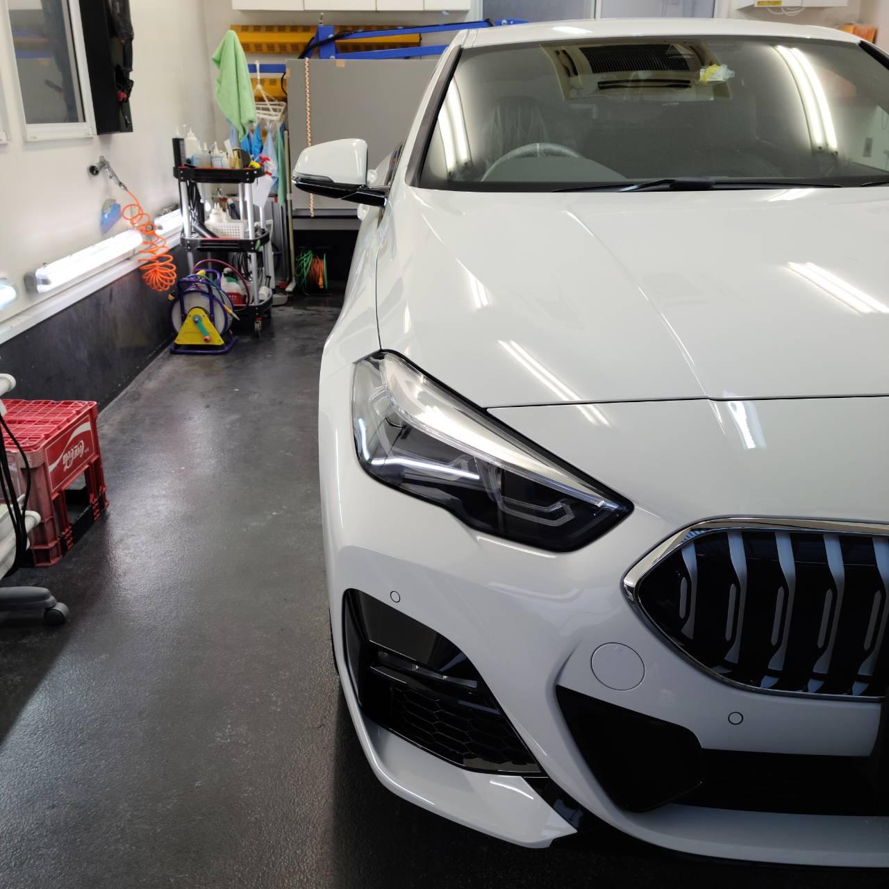 BMW(F44型)2シリーズグランクーペ&JAGUAR Eペイス フィルム施工