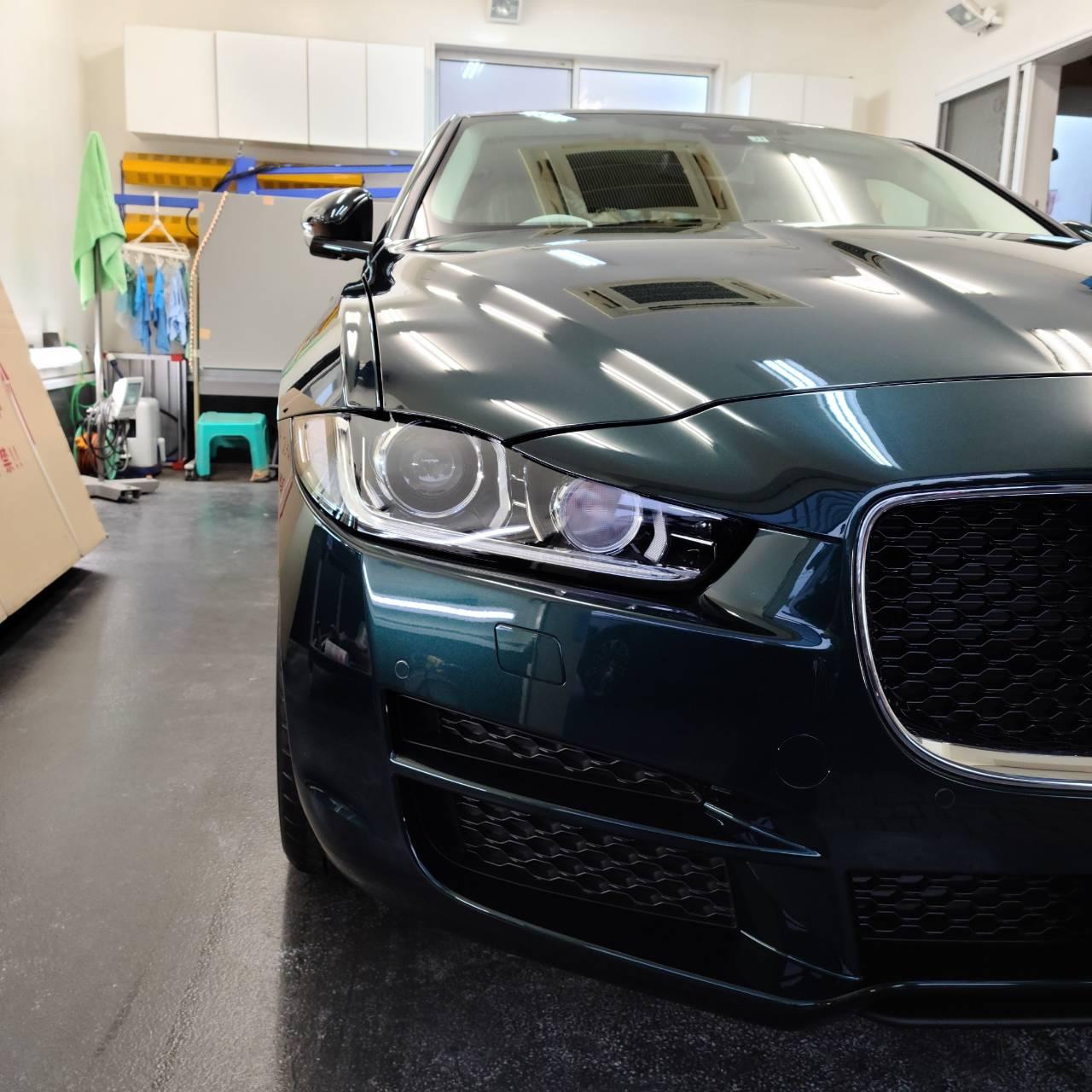 BMW(F40型)1シリーズ&JAGUAR XE コーティング