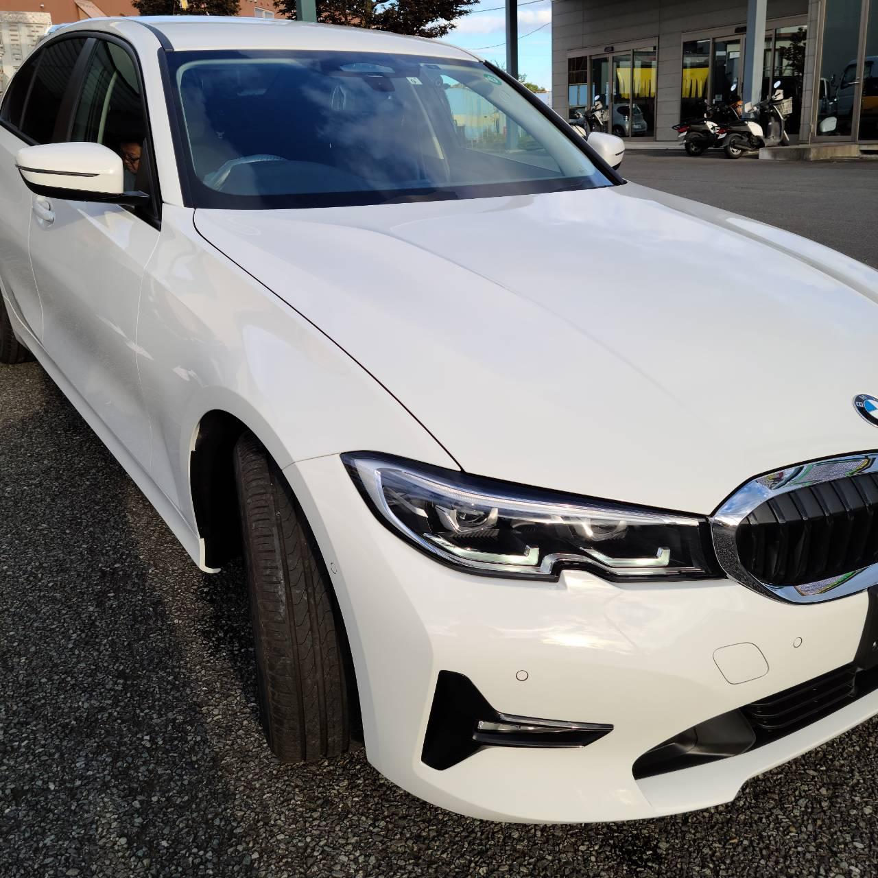 BMW(G20)3シリーズ フィルム施工