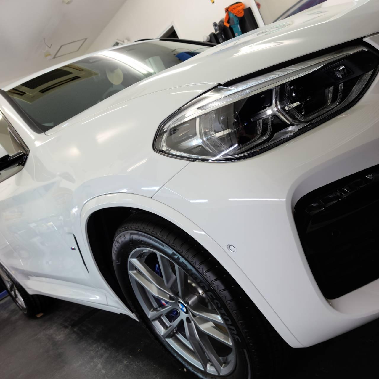 BMW X3 コーティング&フィルム