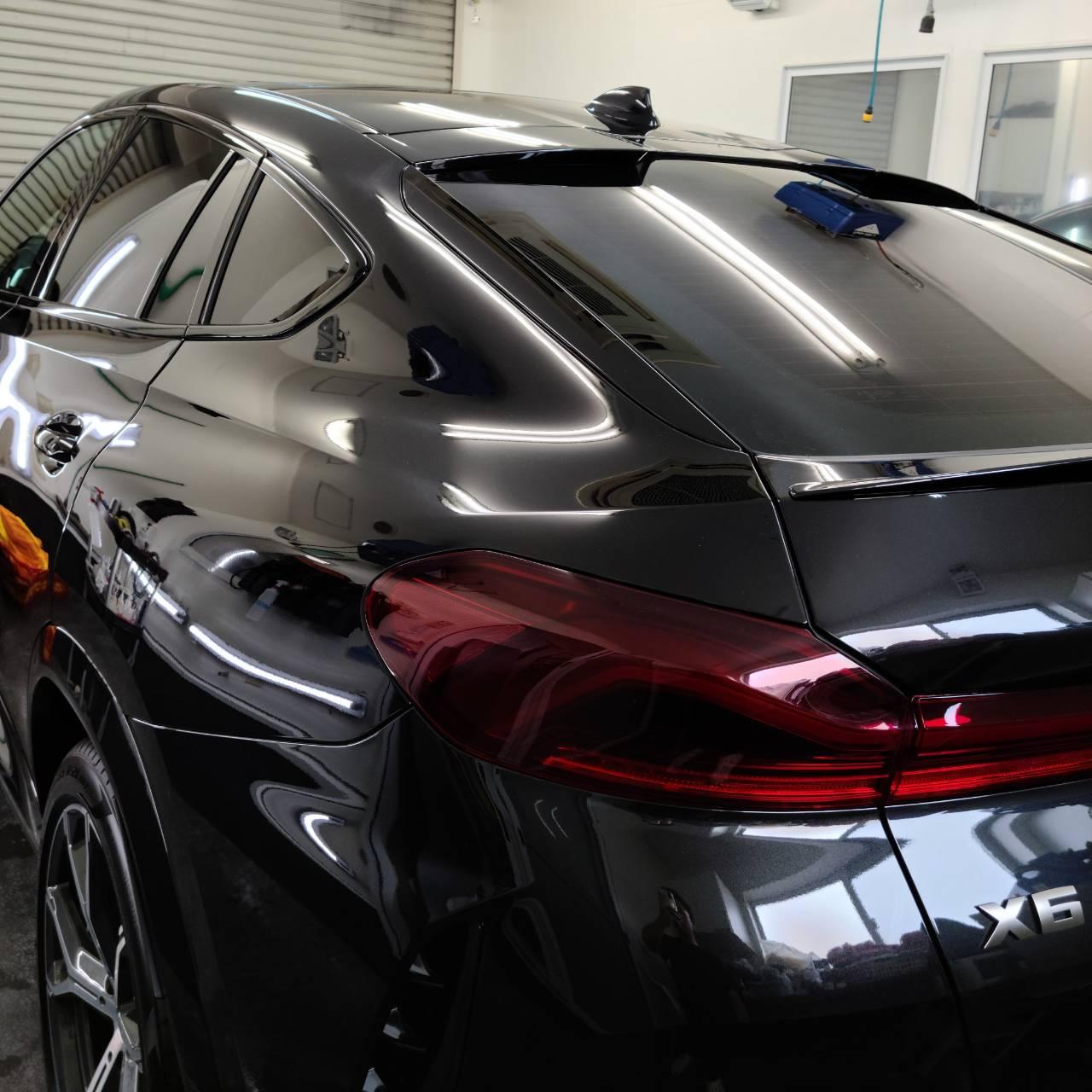 BMW X6 コーティング&フィルム