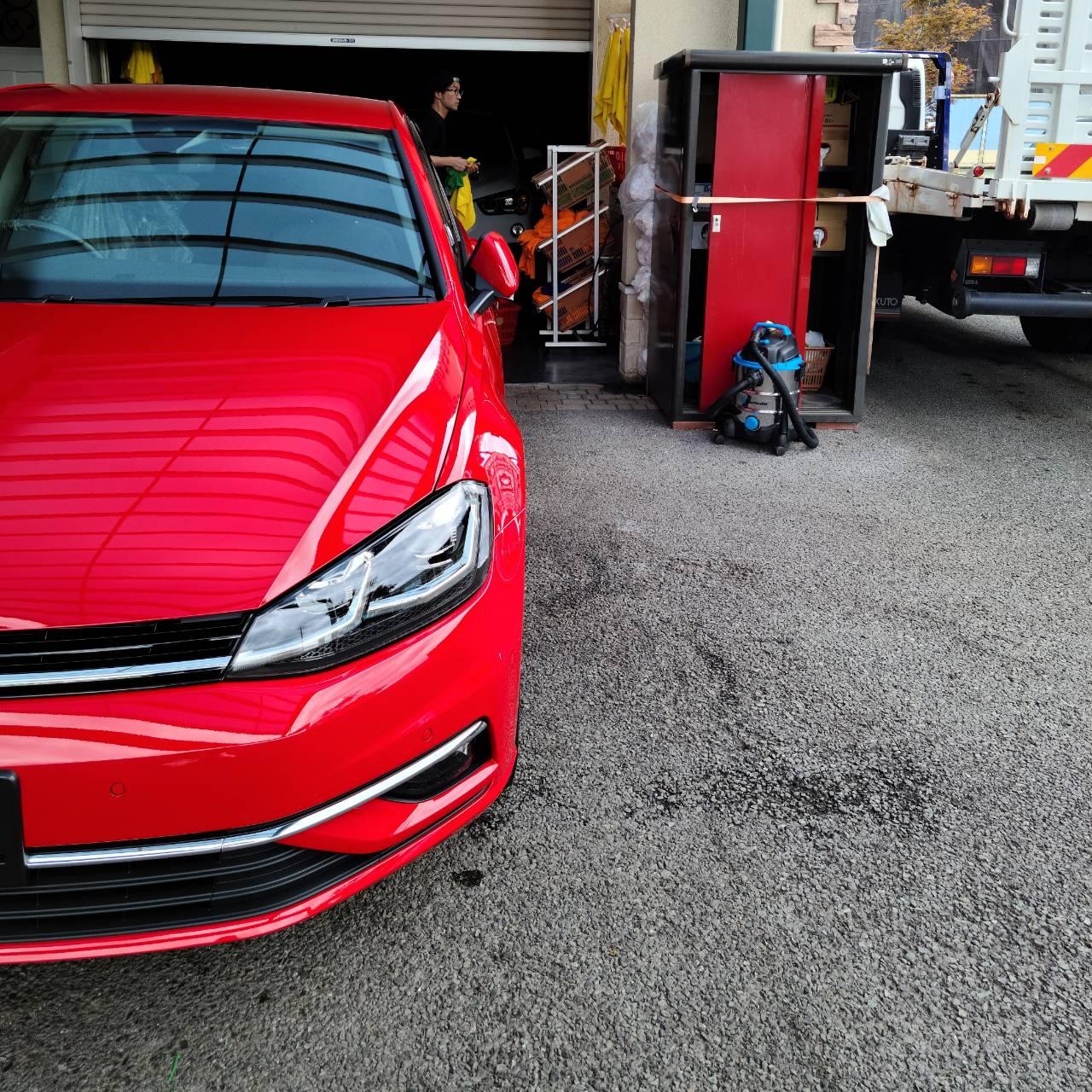 Volkswagen ゴルフ コーティング
