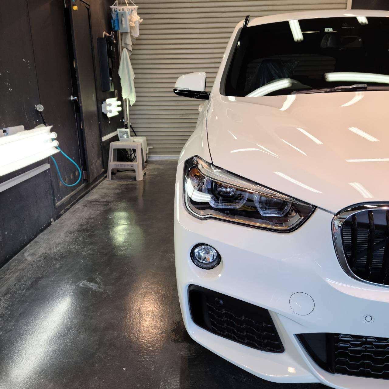 BMW X3&X1 コーティングとフィルム