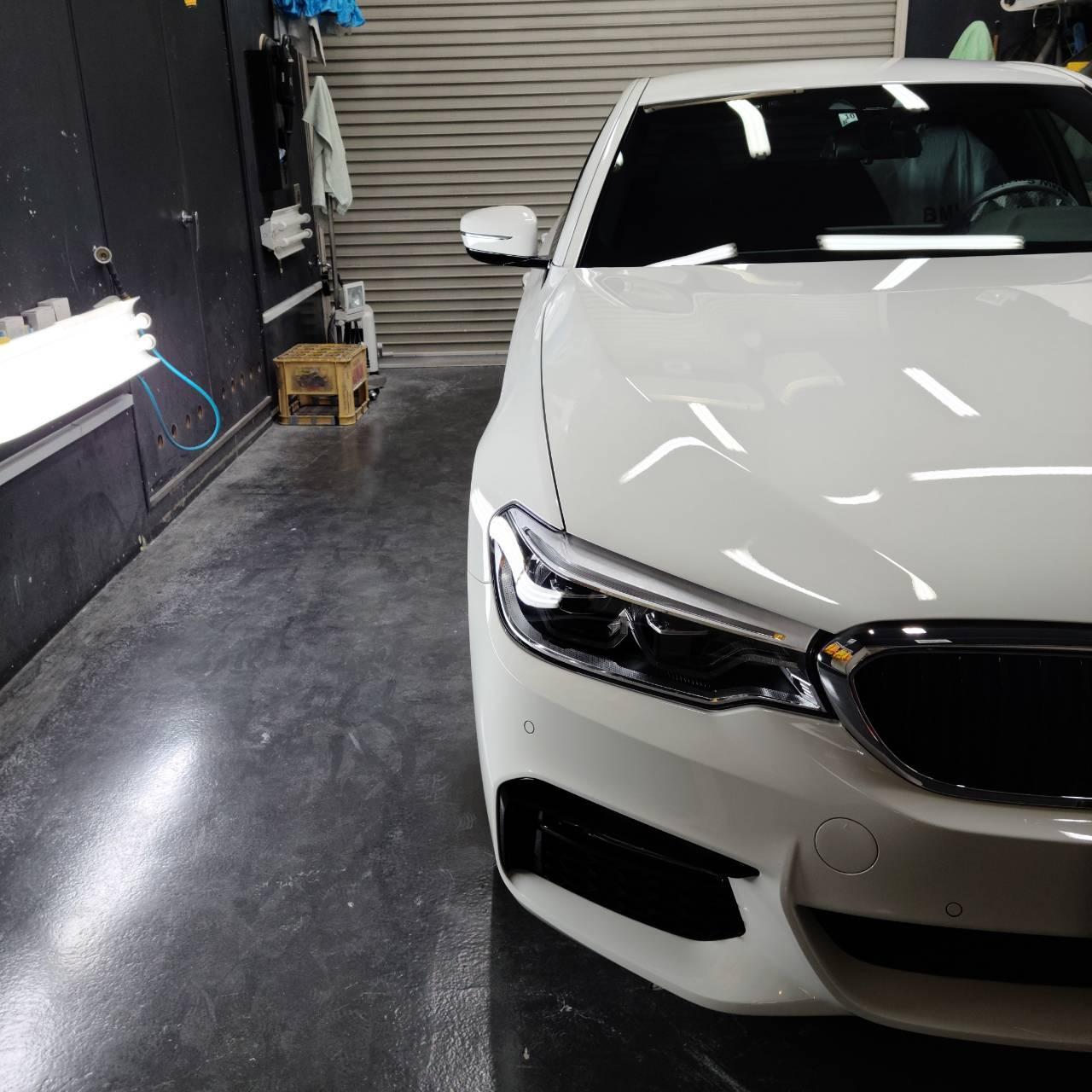 BMW(G30)5シリーズ コーティング&F442シリーズGC コーティング&フィルム