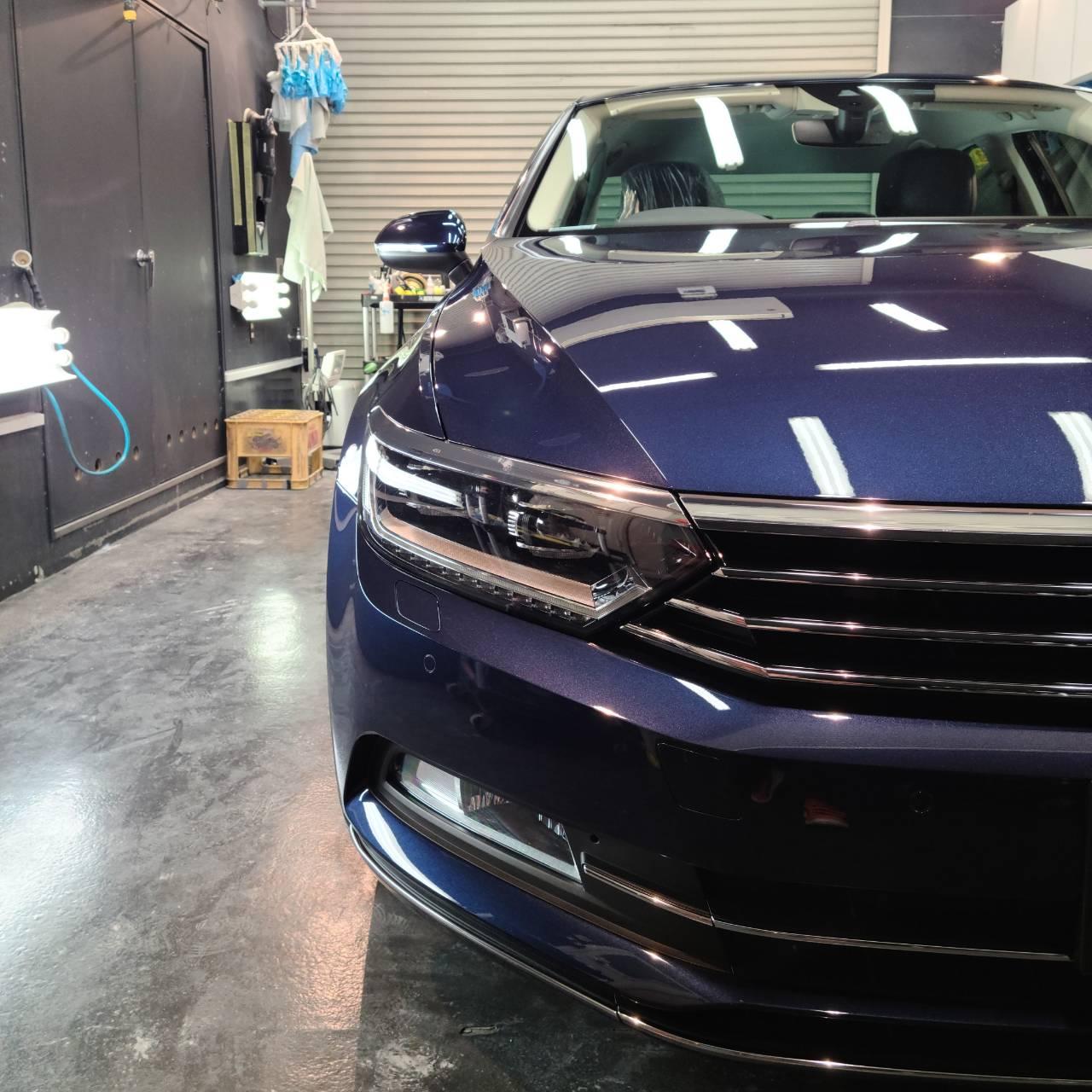 Volkswagenパサート 磨き&コーティング