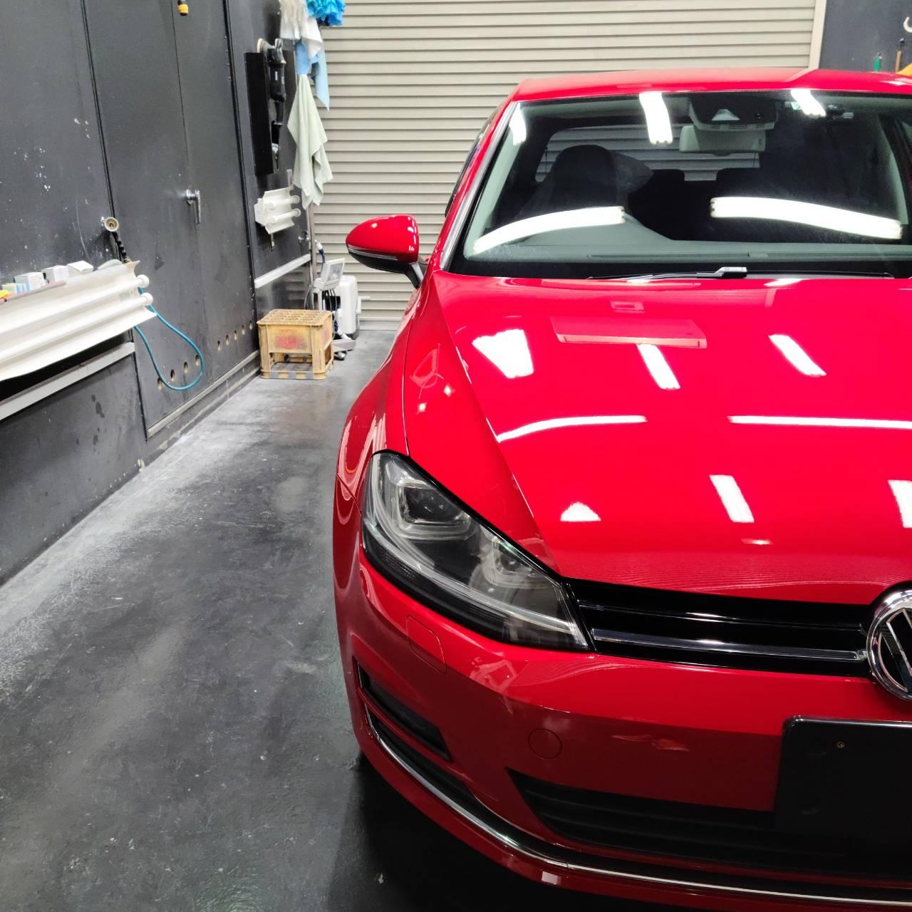 Volkswagenゴルフ 磨き&コーティング