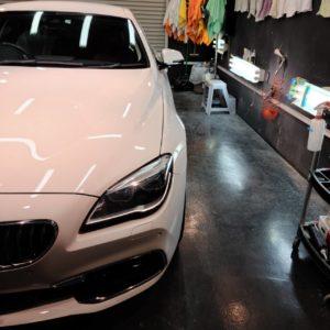 BMW(F06)6シリーズ 磨き&コーティング