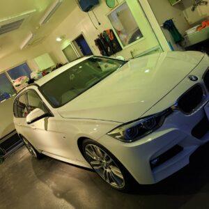 BMW F31 3シリーズ 新工法+ガラスコーティング