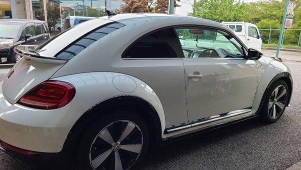 VW ザ・ビートル 断熱スモークフィルム施工